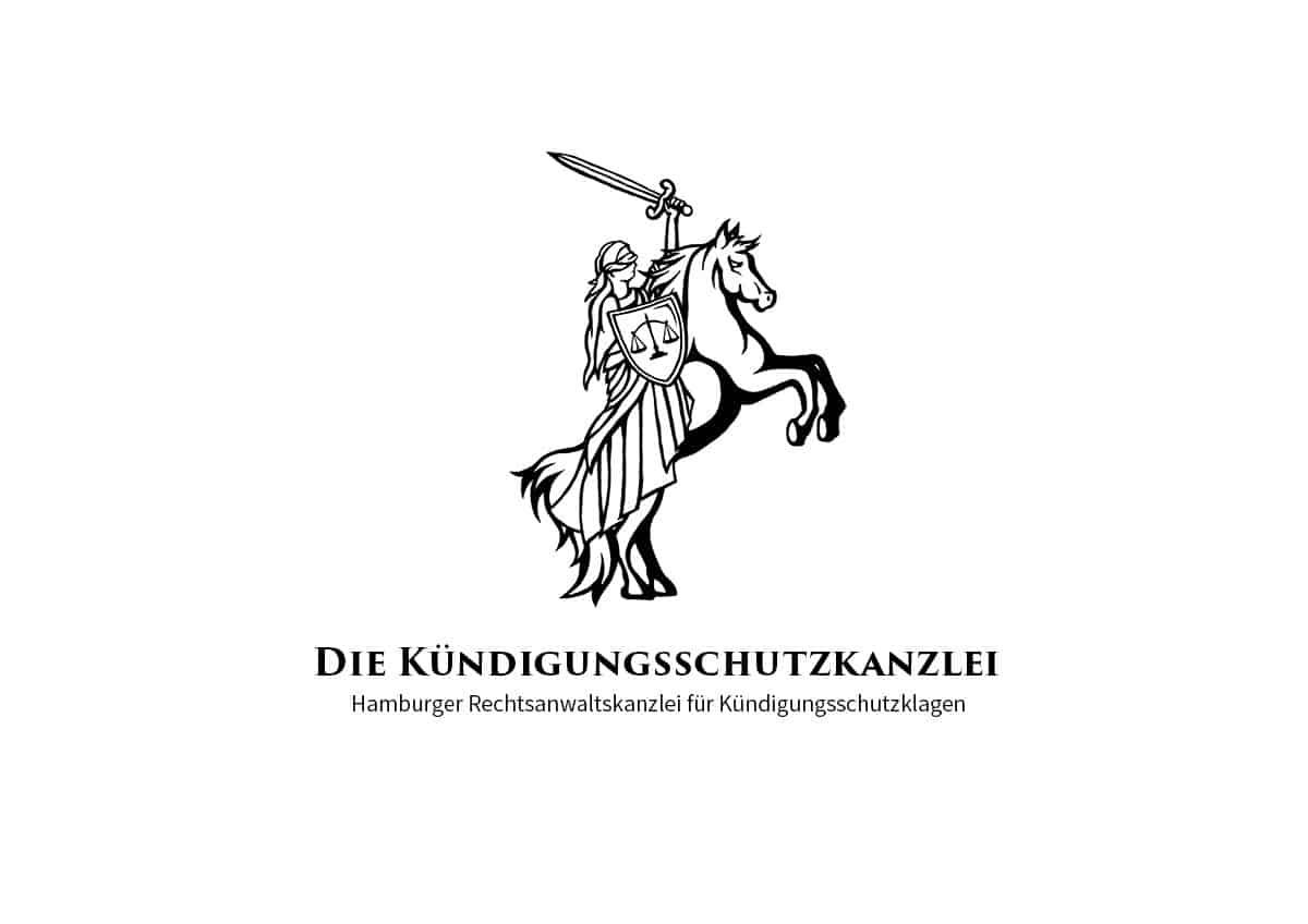 Logo Design Die Kündigungsschutzkanzlei Skizze
