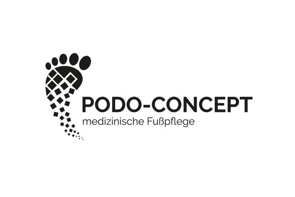 Logo Design Podo-Concept in schwarz