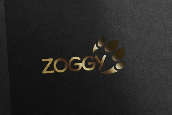 Zoggy Logo Design Gold