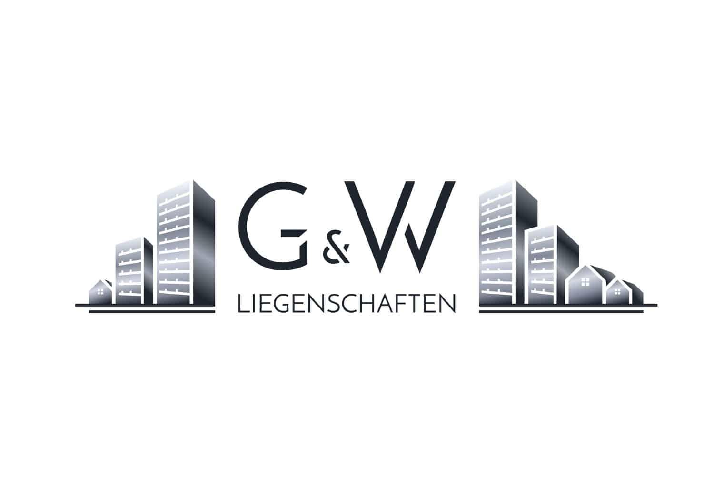 Logo Design G&W Liegenschaften Berlin, Logodesigner Andrea Baitz, Logo Design aus Eckernförde