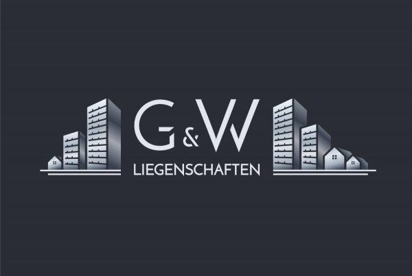 Logo Design Hell G&W Liegenschaften Berlin