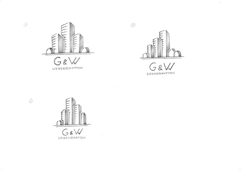 Logo Design Grobe Konzepte G&W Liegenschaften Berlin