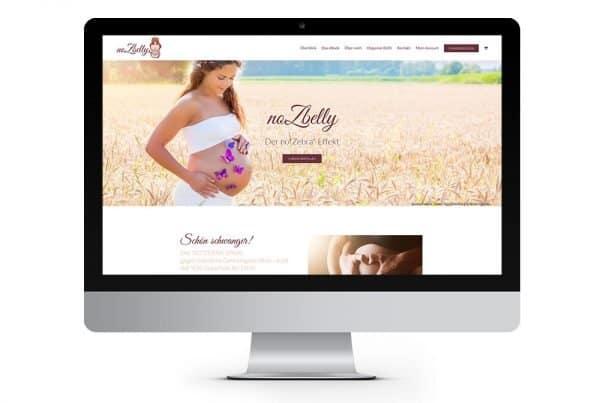 Webseite, Webdesign, responsive Webdesign noZbelly, Webdesign aus Eckernförde, Webdesigner Andrea Baitz