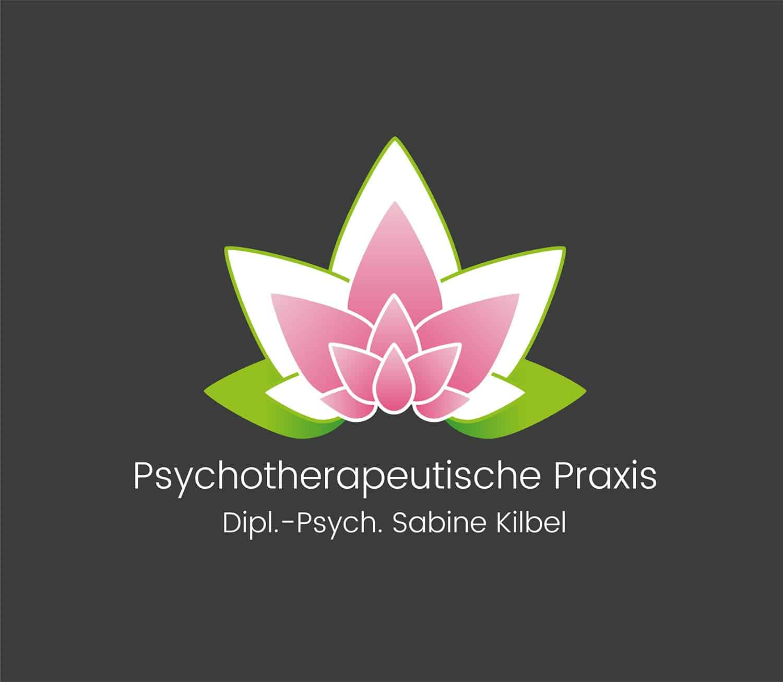 Logo Design - Logo Entwicklung - Psychologische Praxis Sabine Kilbel, Logodesigner Andrea Baitz, Logo Design aus Eckernförde