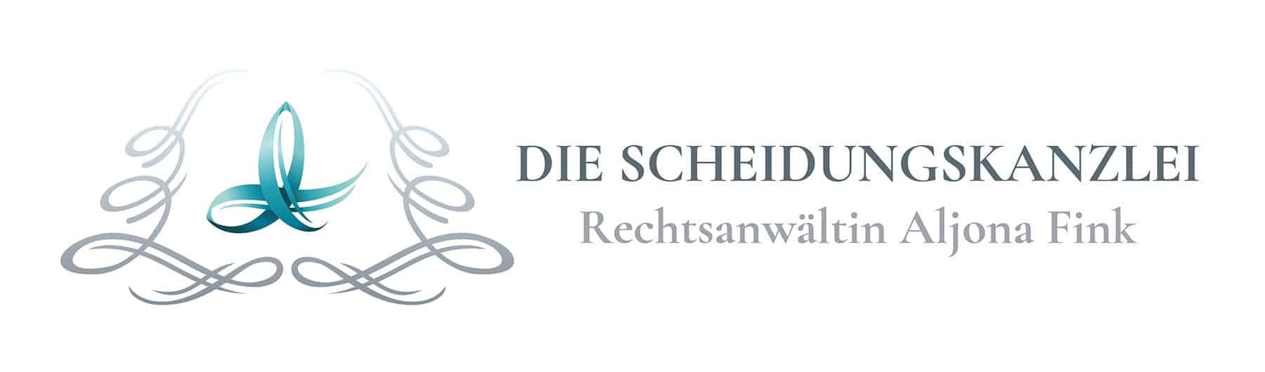 Logo Design / Logo Entwicklung für Aljona Fink und die Scheidungskanzlei - Logo Design aus Eckernförde - Logo Designer Andrea Baitz