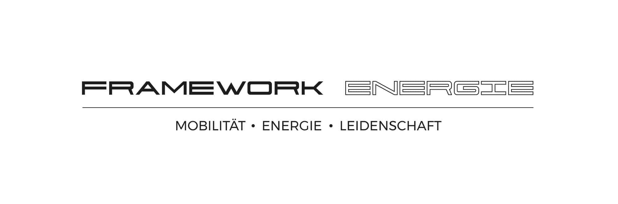 Logo Design - Framework Energie GmbH - Logo Design aus Eckernförde - Schleswig Holstein - Umgebung Kiel - Logo Designer Andrea Baitz