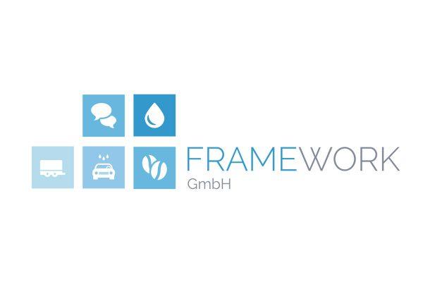 Logo Design / Logo Entwicklung / Logo Konzept für Framework Energie GmbH - Logo Design aus Eckernförde - Schleswig Holstein - Umgebung Kiel, Rendsburg, Eckernförde - Logo Designer Andrea Baitz