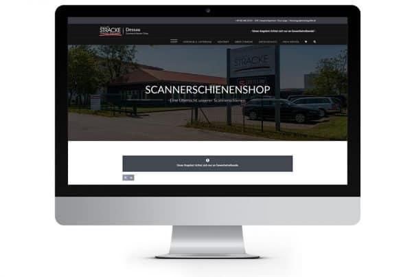 Heinrich Stracke GmbH Dessau, Preisschienenshop, Scannerschienenshop, Webdesign, Webprogrammierung, Onlineshop, Webdesigner Andrea Baitz aus Eckernförde
