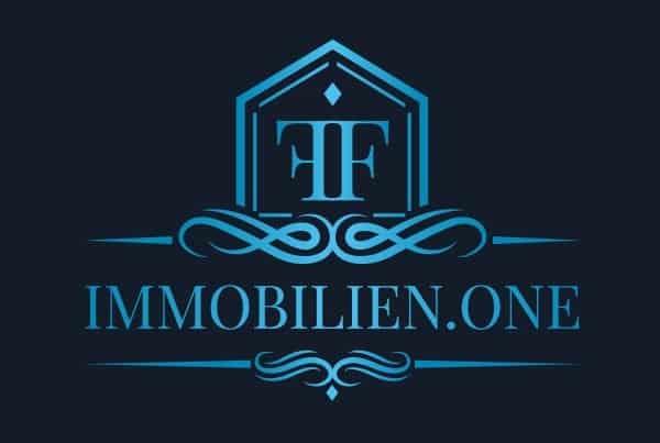 Immobilien.one Logo Design, Logo Designer, Andrea Baitz, Eckernförde, Logo Design Schleswig-Holstein, Logo Design Eckernförde, Logodesign, Raum Schleswig, Rendsburg, Flensburg, Hamburg, Firmen Logo Design