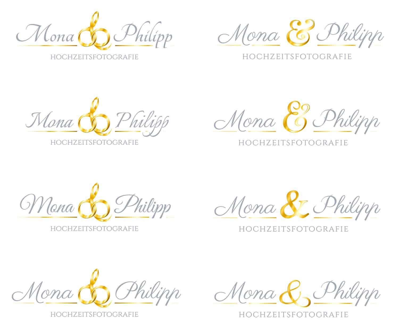 Mona und Philipp Hochzeitsfotografie Logo Design, Logo Designer, Andrea Baitz, Eckernförde, Logo Design Schleswig-Holstein, Logo Design Eckernförde, Logodesign, Raum Schleswig, Rendsburg, Flensburg, Hamburg, Firmen Logo Design