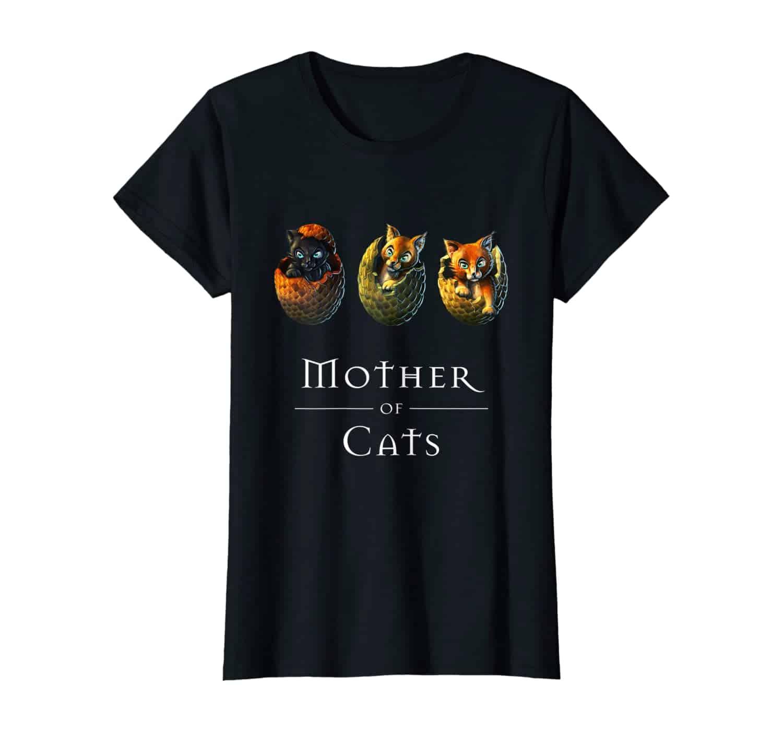 Katzen T-Shirt, Mother of Cats, Katzen Mama, Katzenliebhaber, Süße Katzen T-Shirt, Fans von süßen und lustigen Babykatzen, Kitten, Katzenpfoten, Cat Paws, Cute Animals, Tierliebhaber, lustige Katzensprüche, Bengal, British Shorthair, Maine Coon, Ragdoll, Birma, Wald-Katzen, Geschenk, geschenkidee, T-Shirt Design