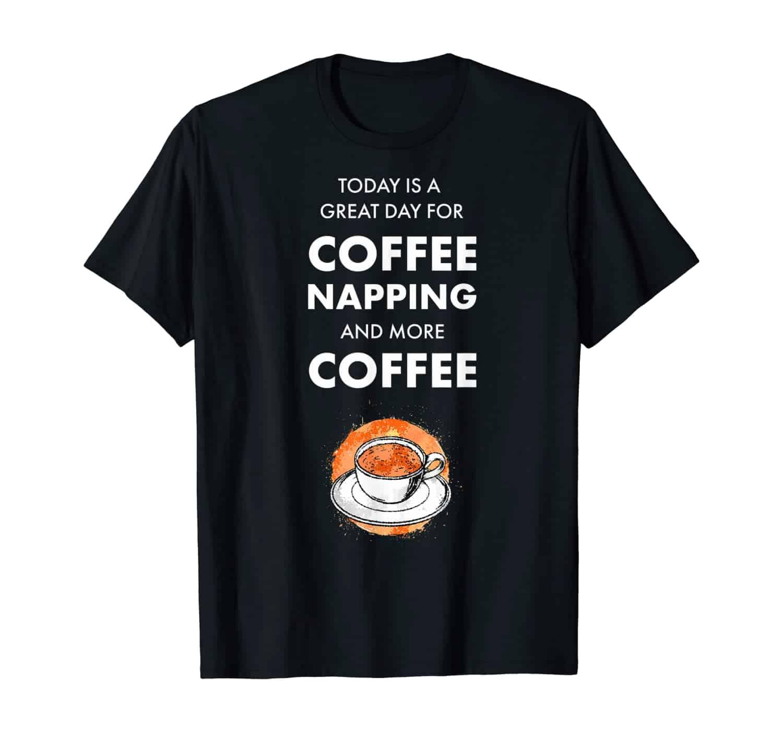 Kaffee Trinker, Kaffee Liebhaber, Morgenmuffel, Kaffeetrinker, Kaffee Spruch T-Shirt Design