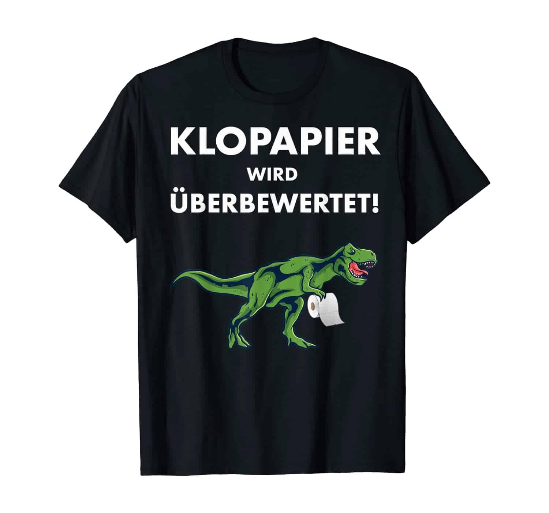 Klopapier Dealer, Dino, T-Rex, lustiges Motiv, T-Rex T-Shirt, T-Rex Motiv, Dino T-Shirt, Dino T-Shirt Design, Toilettenpapierkrise, Hamsterkauf, T-Shirt Design, Hamsterkäufer, T-Shirt Motiv, 2020, Geschenk, Geschenkidee