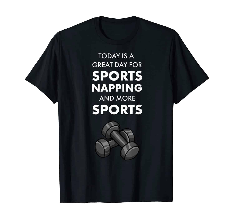 Sport, Sport Fan, Fitnessstudio, Home Fitness, Funshirt, Frühsport, Jogger, Gewichtheber, Turner, Sportler, T-Shirt Design, T-Shirt Motiv, T-Shirt Designer, Geschenk, Geschenkidee